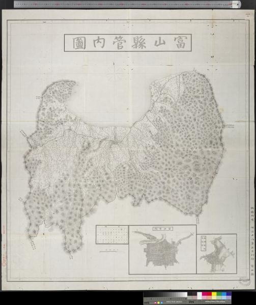 富山県管内図