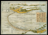 越中神通川船橋図